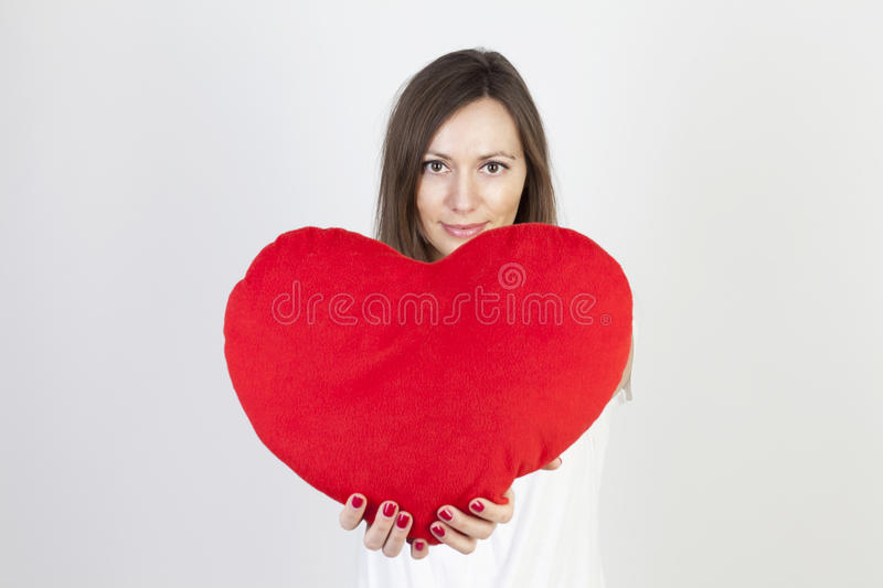 Download Celebrating valentines day stock image. Image of looking - 22713043