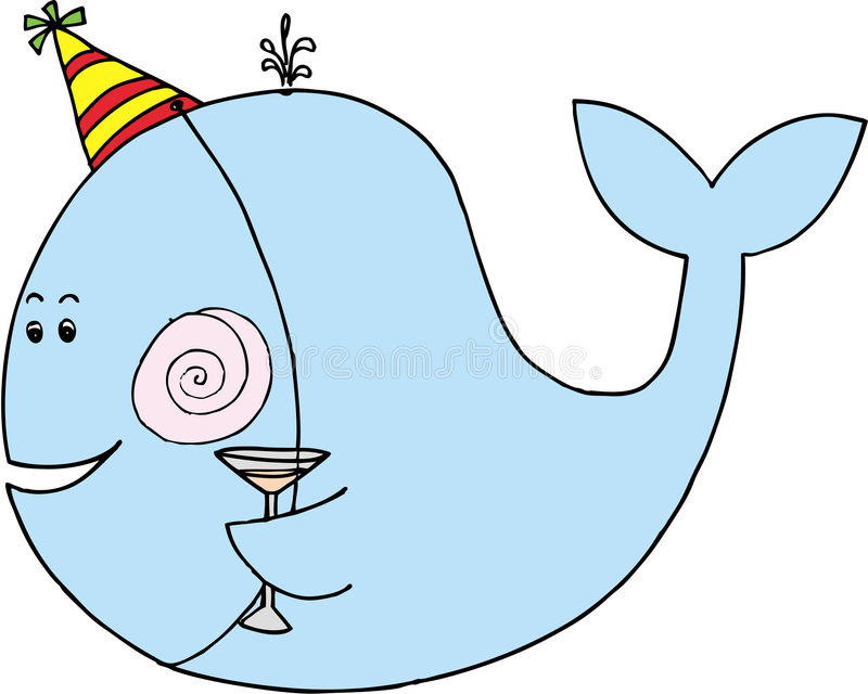 Download Celebrating Whale Royalty Free Stock Images - Image: 6976249