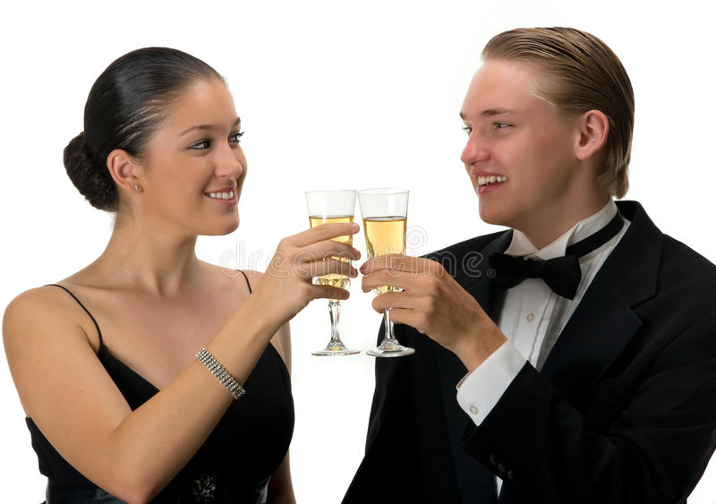 Download Celebration stock image. Image of xmas, champagne, glass - 10601497