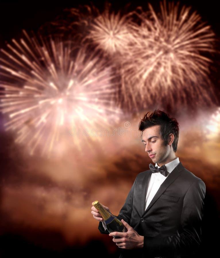 Download Celebration stock image. Image of fireworks, sparkling - 11430497