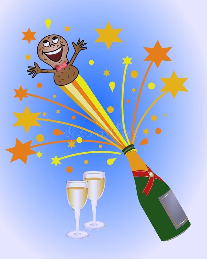 Download Celebration background stock illustration. Image of year - 5780619