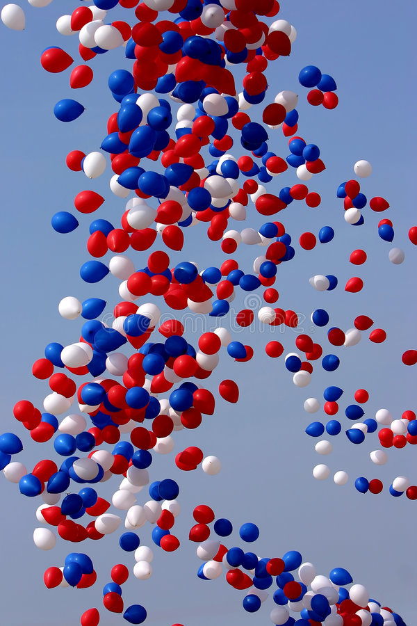 Download Celebration Balloons Released Stock Photo - Image: 181008