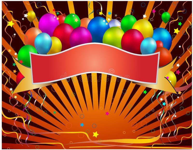 Download Celebration banner stock vector. Image of birthday, vector - 20677978