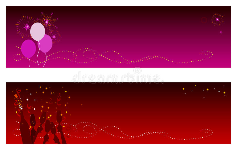 Celebration Banners vector illustration
