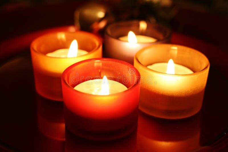 Download Celebration candles stock photo. Image of orange, blue - 1422570