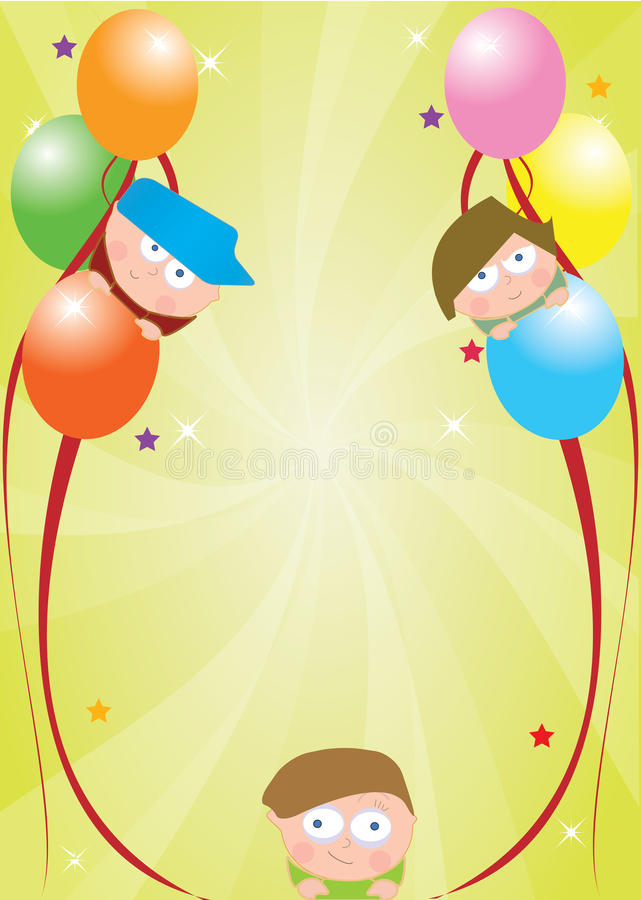 Download Celebration card stock illustration. Image of orange - 16547603