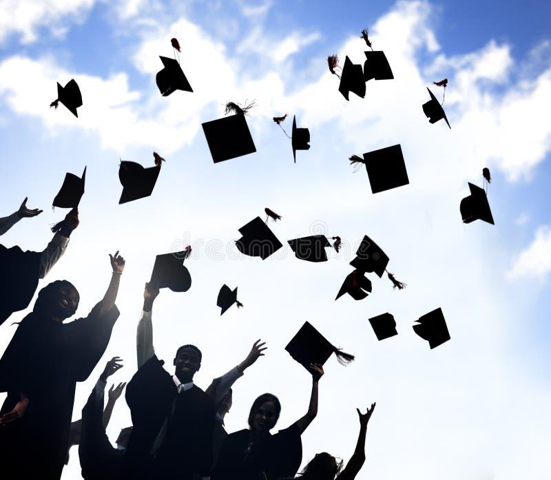Celebration Education Graduation Student Success Learning Concept stock photo