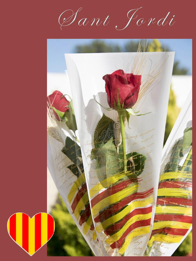 Traditional celebration in Catalonia. stock photography