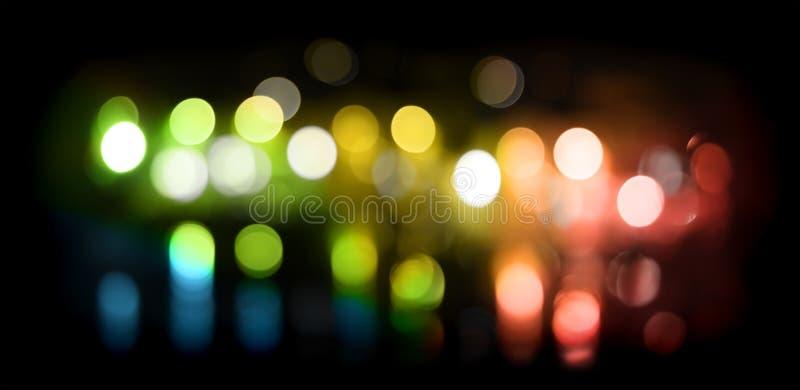 Celebration lights. Colorful celebration lights abstract background