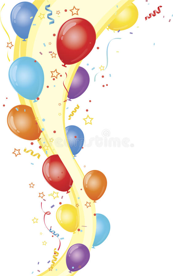Download Celebration Party And Balloons Stock Vector - Image: 17730275