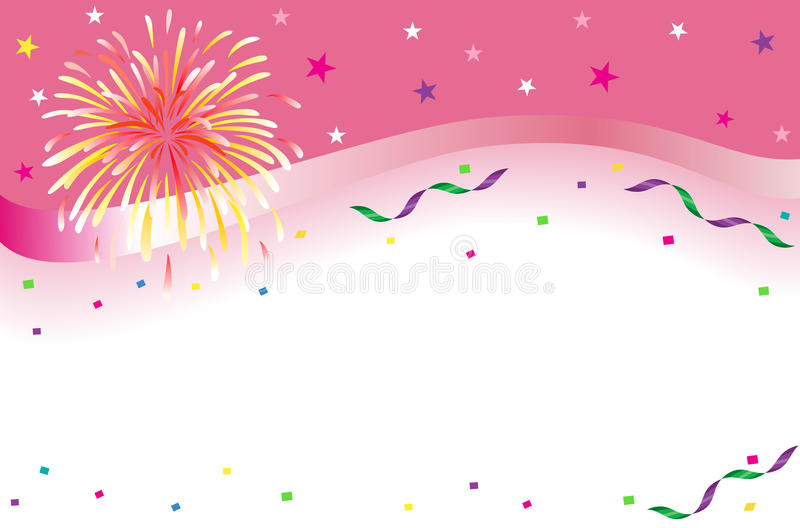 Celebration and party banner vector illustration