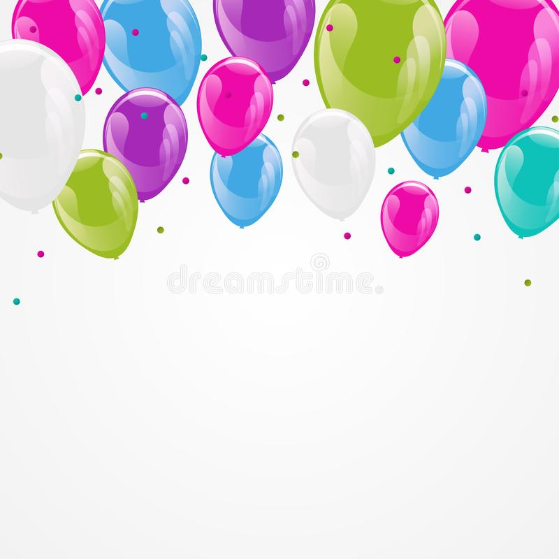 Celebration party banner royalty free illustration