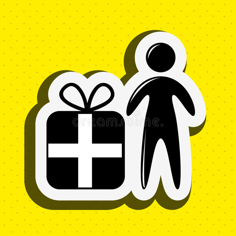 Celebration party icon design. Illustration eps10 graphic stock illustration