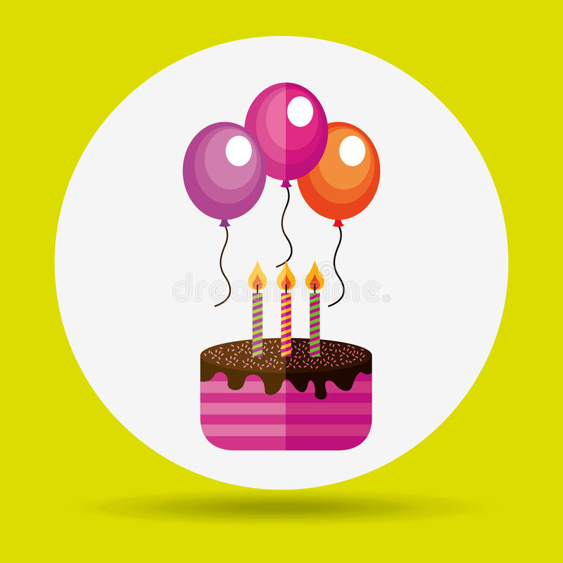 Celebration party icon design. Illustration eps10 graphic vector illustration