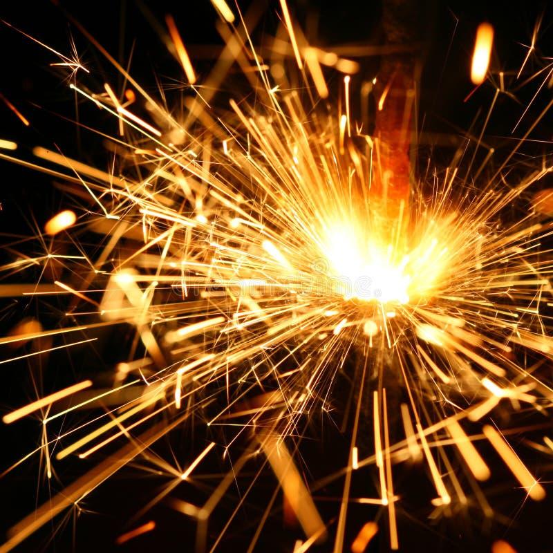 Free Celebration Sparklers Royalty Free Stock Photo - 5681715