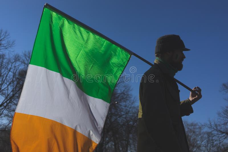 Celebration of St. Patrick`s Day stock photo