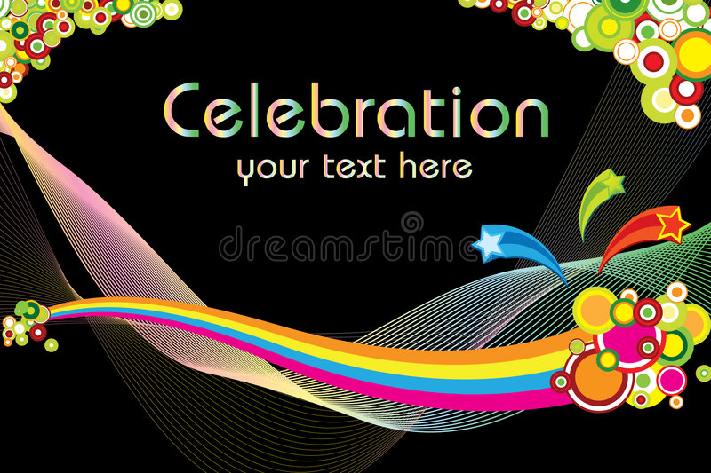 Download Celebration theme stock vector. Illustration of circle - 6150411