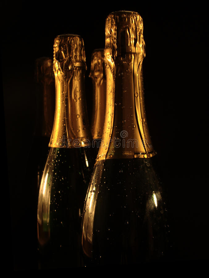 Celebration theme. Champagne stock images