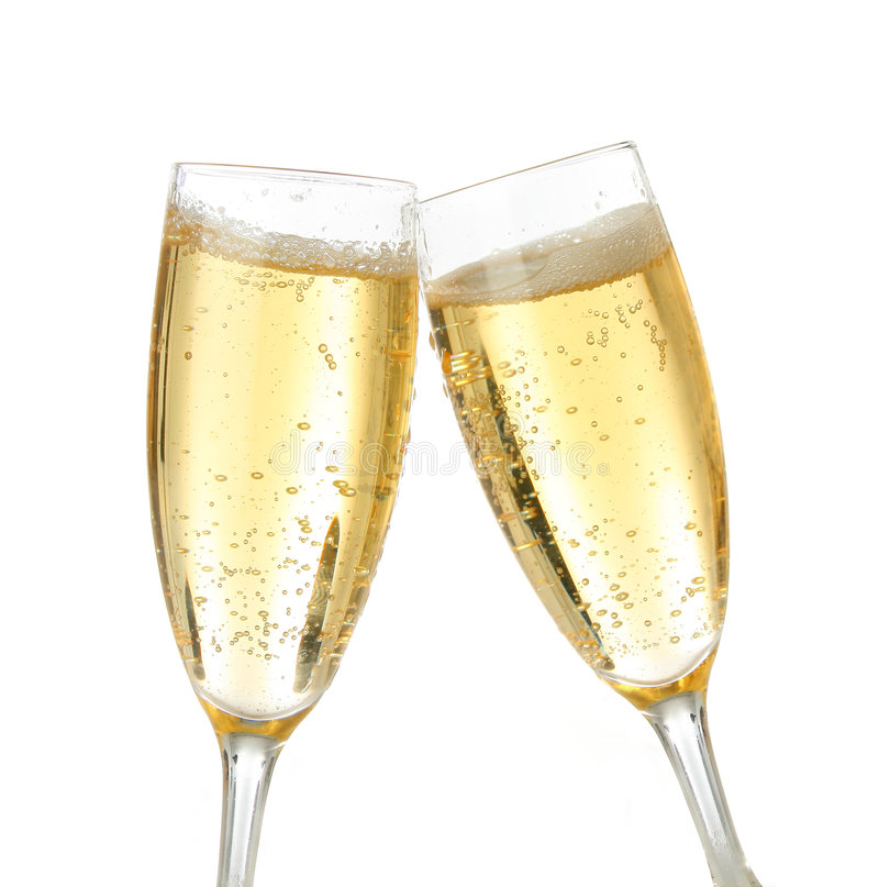 Free Celebration Toast With Champagne Royalty Free Stock Photo - 1485335