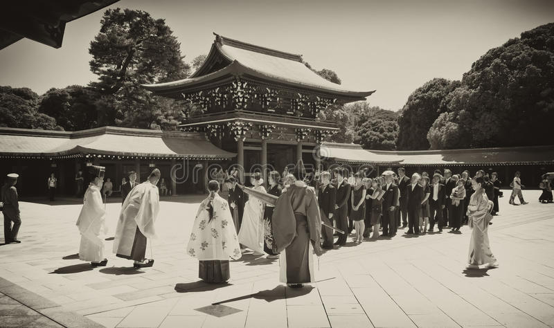 Download Celebration Of A Traditional Japanese Wedding. Editorial Photography - Image: 22607337