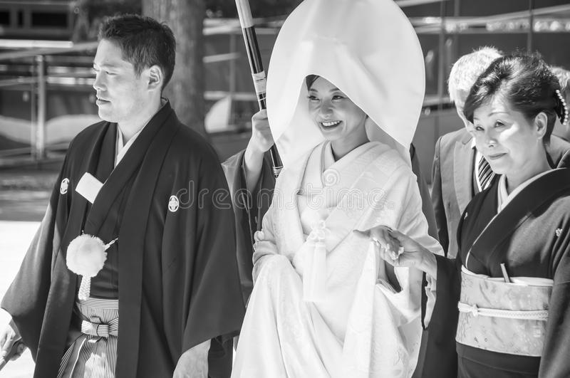 Download Celebration Of A Traditional Japanese Wedding. Editorial Photo - Image: 26379881