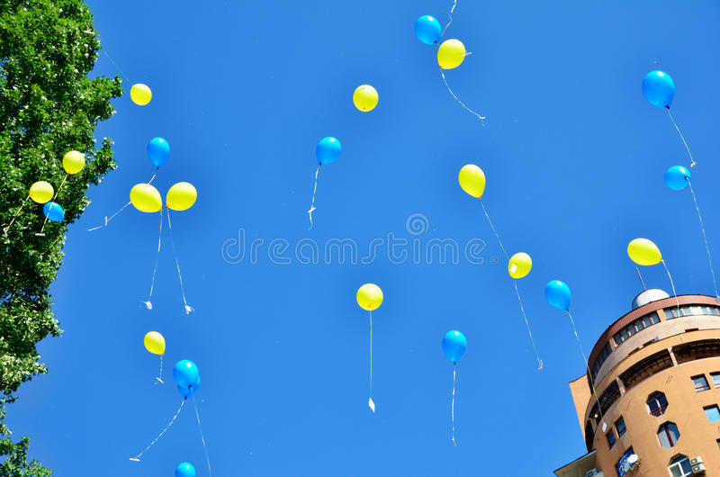 Download Celebration In The Ukrainian Capital Stock Photo - Image: 41829770