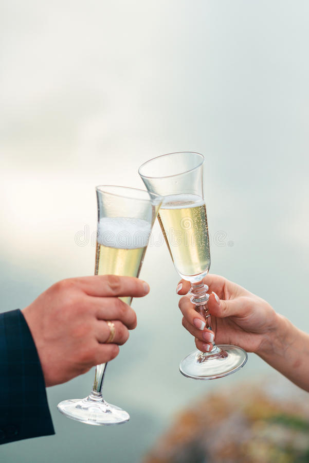 The celebration of the wedding day royalty free stock images