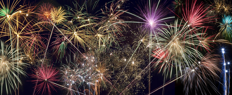 Firework Display - Celebrations stock photo