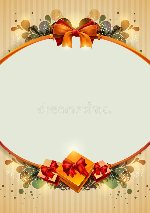 Download Celebratory background. stock vector. Image of christmas - 21962001