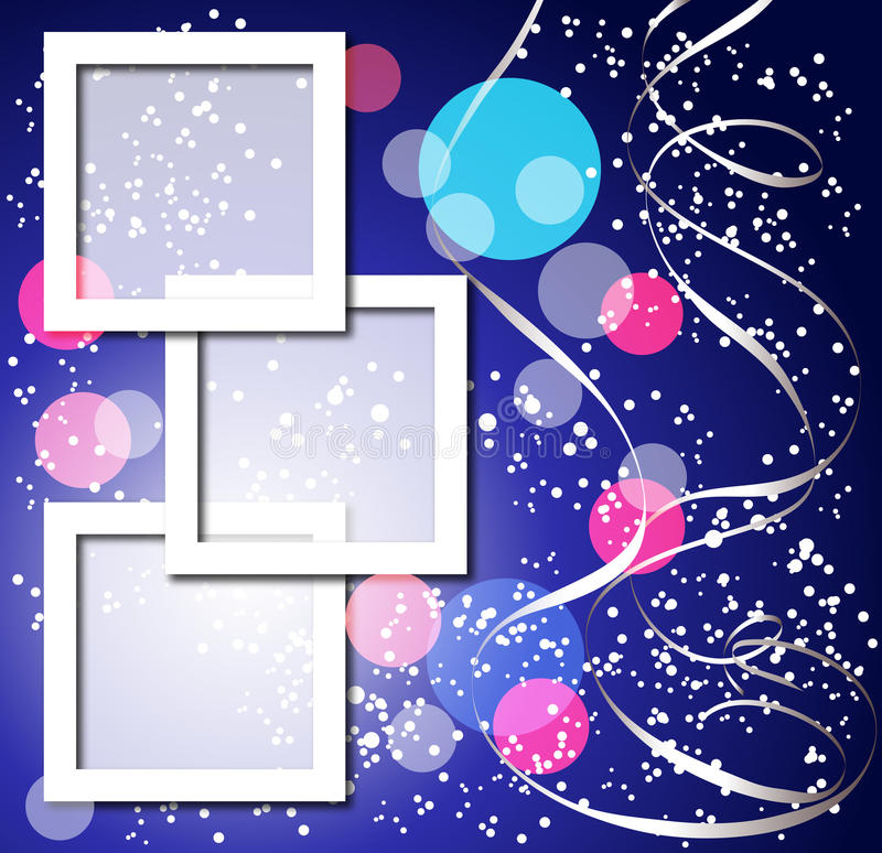 Free Celebratory Background With Frames Stock Photos - 18265503