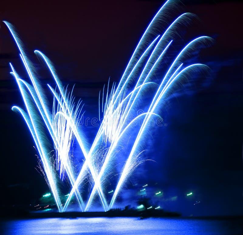 Download Celebratory firework stock image. Image of night, heavens - 12113543