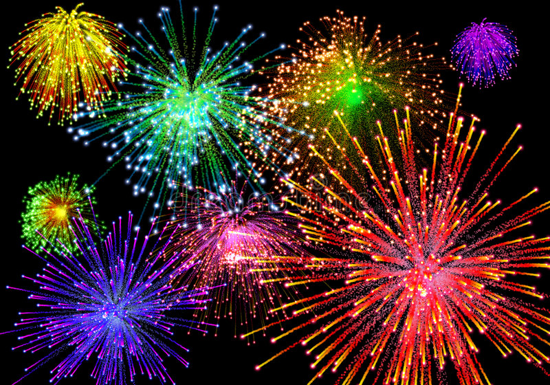 Download Celebratory Firework Stock Image - Image: 5419521