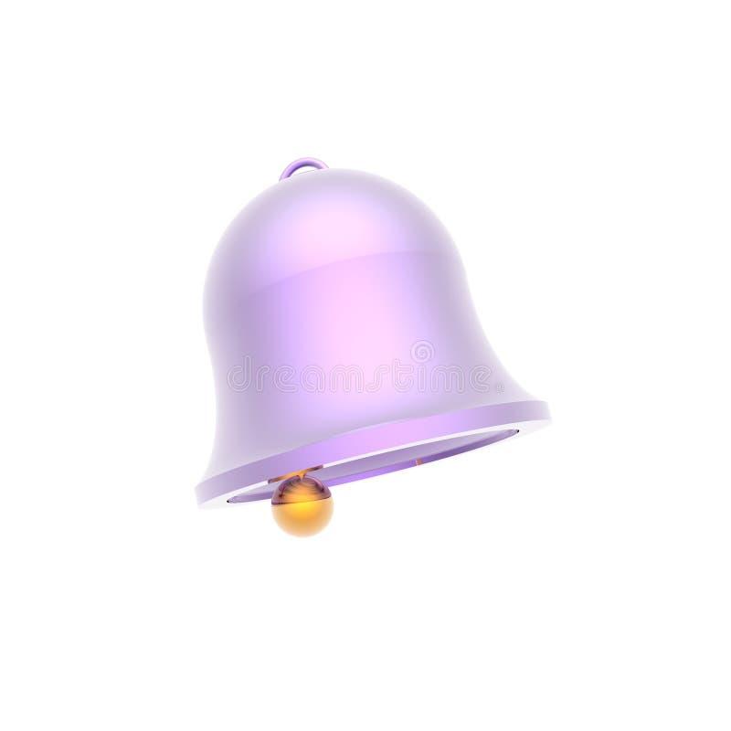 Download Celebratory handbell stock illustration. Illustration of bell - 6766763