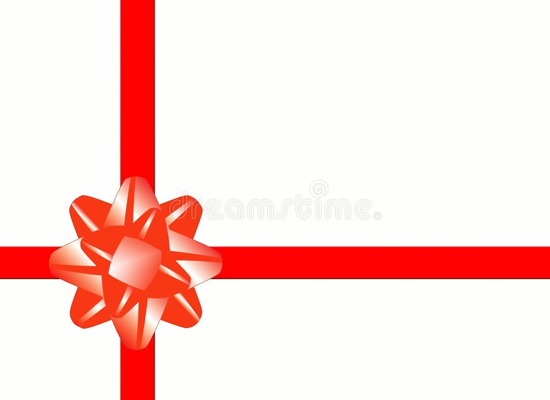 Download Celebratory red band stock illustration. Illustration of abstract - 1628639