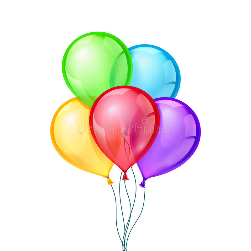 celebratory vector balloons on isolated transparent background stock rh dreamstime com vector balloons free download vector balloons eps