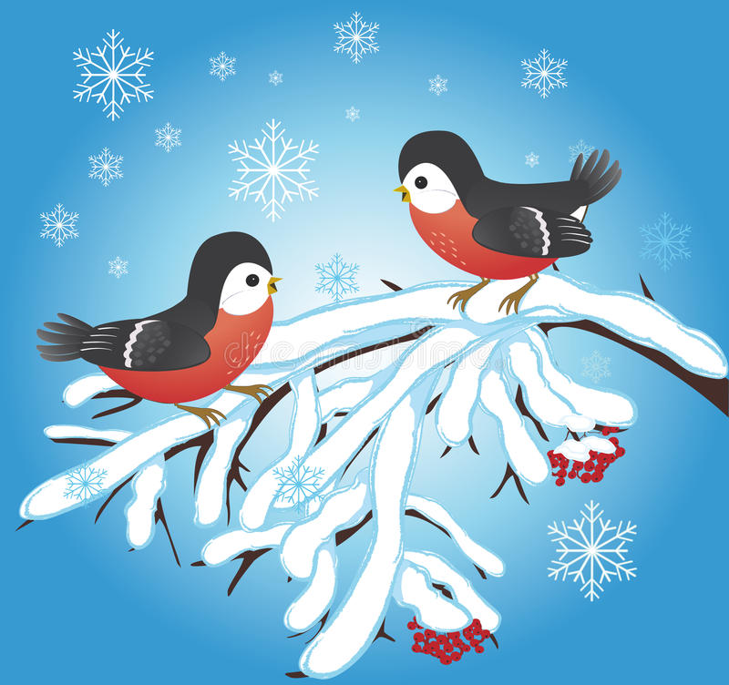 Celebratory winter background stock image