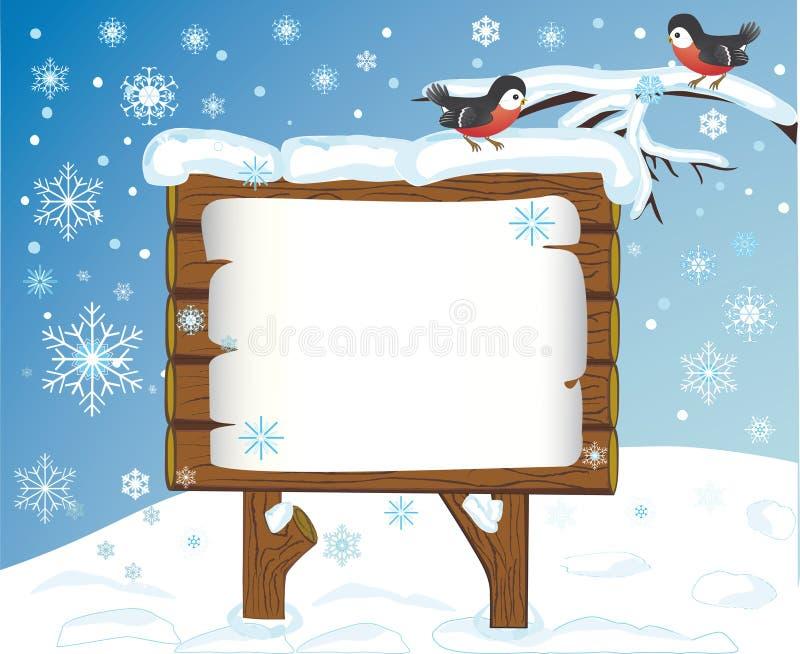 Celebratory winter background royalty free stock photo