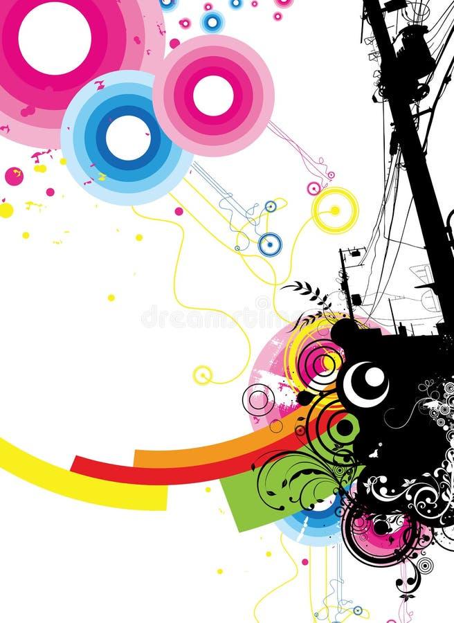 Celebrazione 1/2 illustrazione di stock