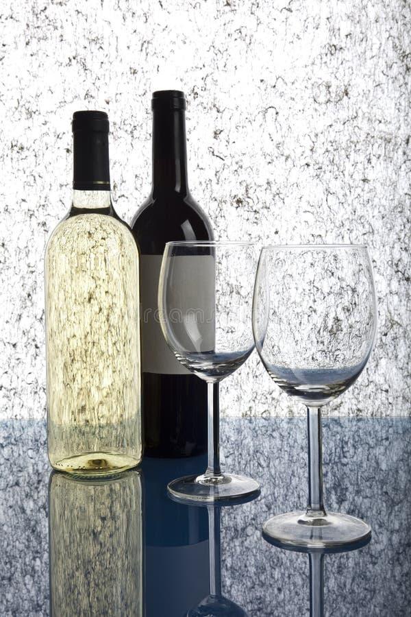 Celebrazione con vino immagini stock libere da diritti