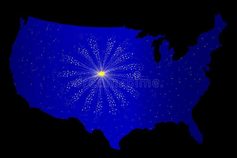 Celebrazione degli Stati Uniti royalty illustrazione gratis