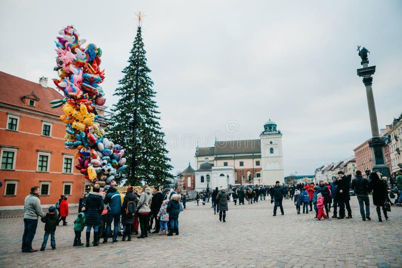 Celebrazione del Natale in Europa fotografia stock