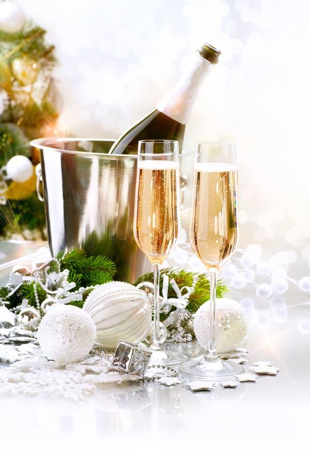 Celebrazione dell'nuovo anno fotografia stock libera da diritti