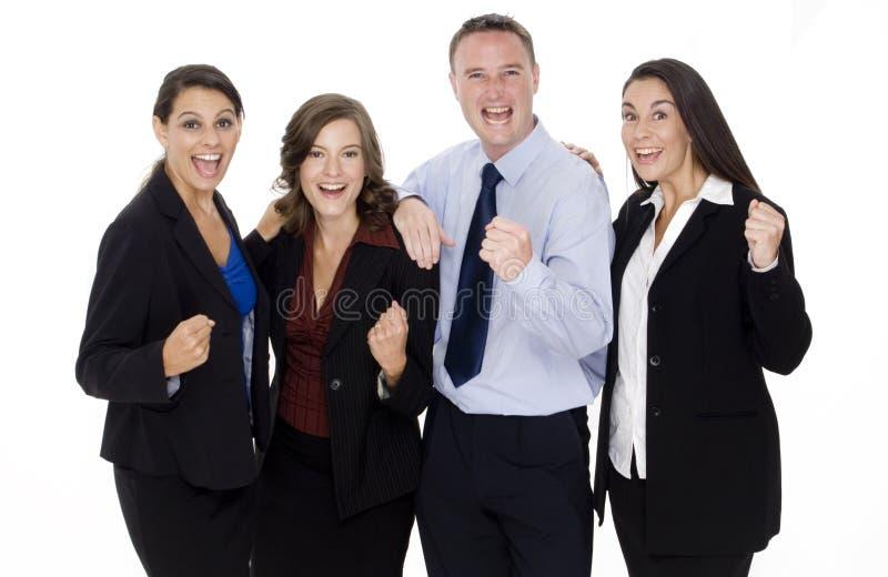 Celebrazione di affari immagini stock