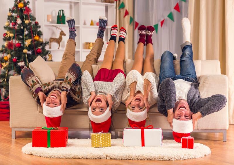 Celebrazione di Buon Natale immagini stock libere da diritti
