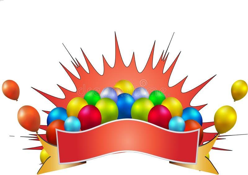 Celebrazione di compleanno royalty illustrazione gratis