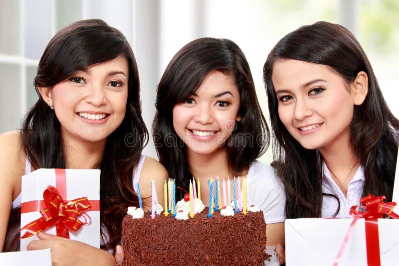 Celebrazione di compleanno fotografie stock libere da diritti