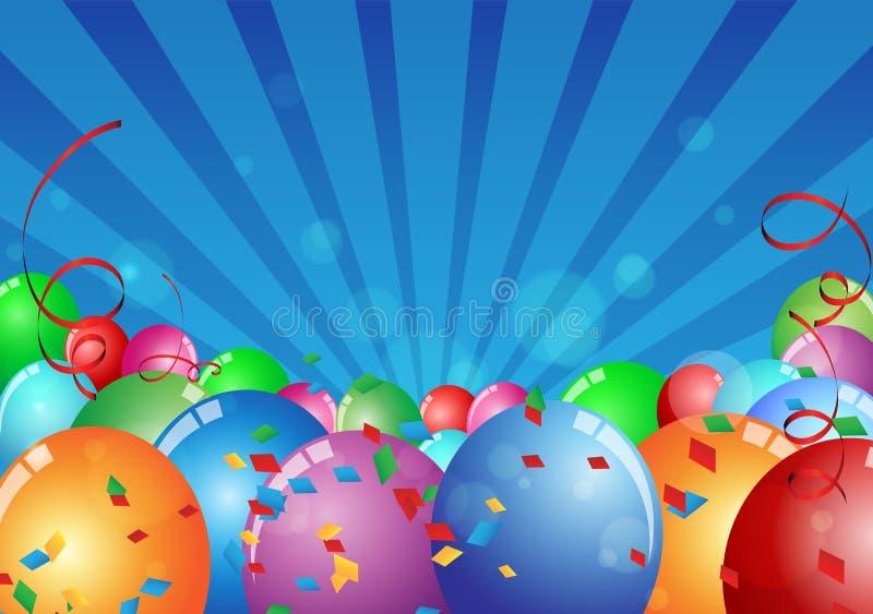 Celebrazione di compleanno illustrazione vettoriale