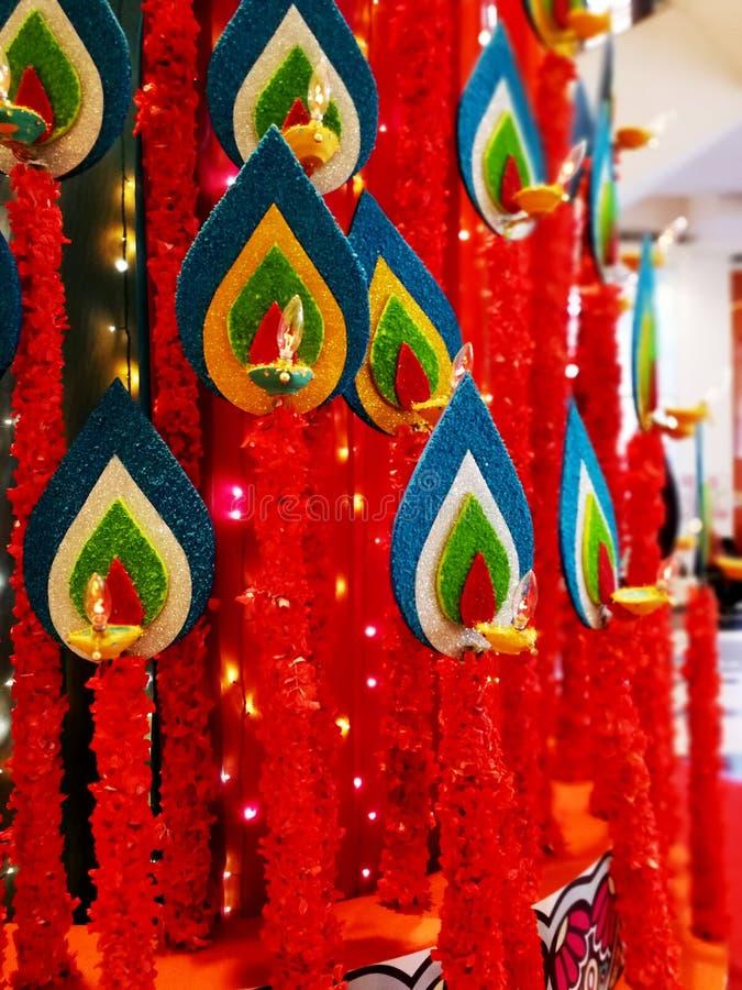 Celebrazione di Deepawali fotografia stock libera da diritti