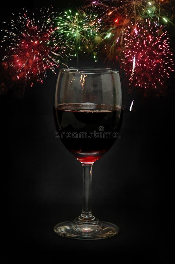 Celebrazione di nuovo anno fotografie stock