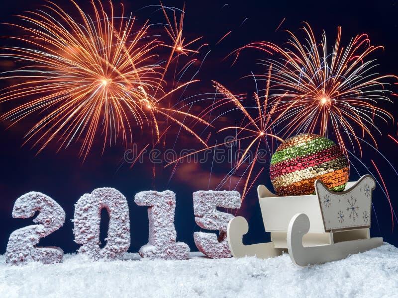 Celebrazione di nuovo anno immagine stock libera da diritti
